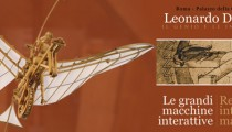 Leonardo da Vinci inventions in Rome until April 30th 2016!