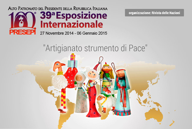 """100 Presepi"" exhibition in Rome, until 6 January 2015"
