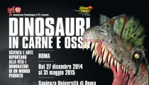 Dinosaurs in the flesh are in Rome!