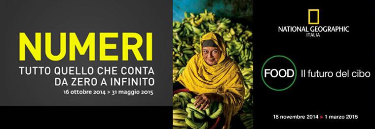 Numeri e il Futuro del cibo al Palazzo delle esposizioni a Roma