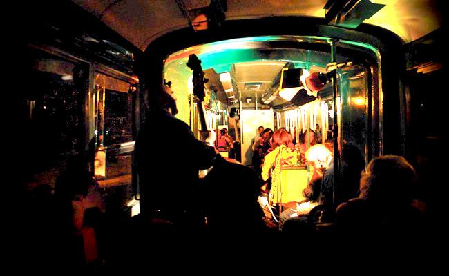 Tramjazz, cena, concerto jazz e tour di Roma!