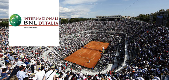 International Tennis Italian Championship 2016, one of the most important sport events in Rome!