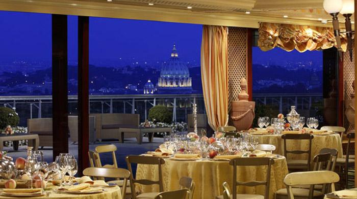 Roma la citt perfetta per il week end di san valentino for La pergola roma prezzi