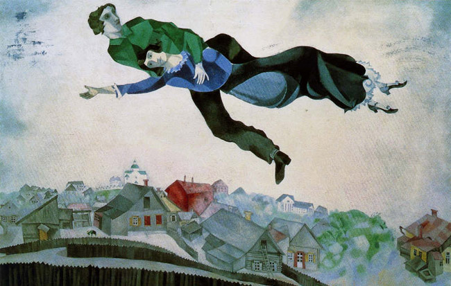 "Chagall ""Love and Life"" on display in Rome until July 26, 2015"