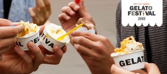 Ice cream Festival 2015, from June 2015, 18 to 21 in Rome