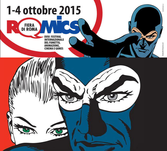 Romics 2015 II at Fiera di Roma
