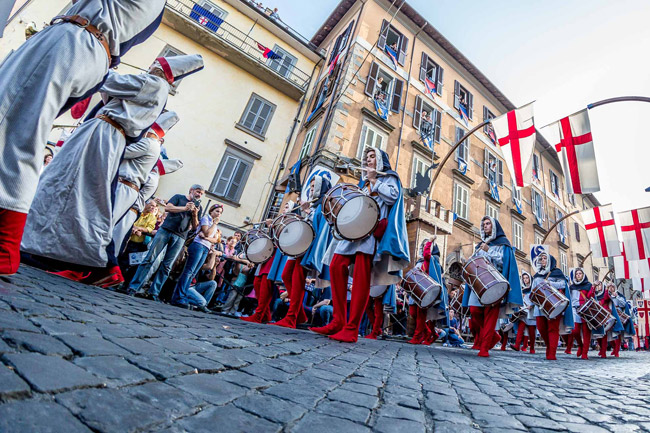 The country festivals of early autumn near Rome