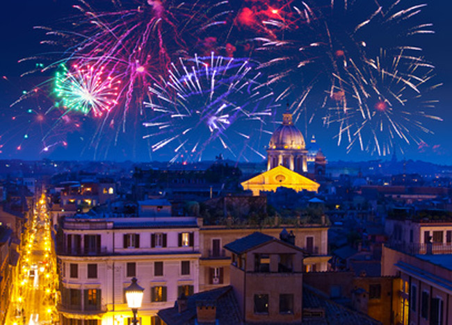 The most exclusives locations for your fantastic new year's day in Rome