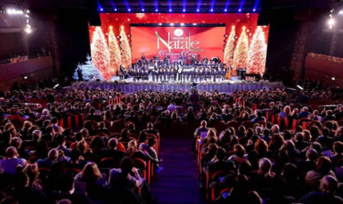 Concerto di Natale 2015 Roma