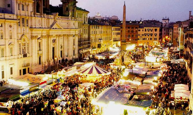 Natale e Festa della Befana a Piazza Navona
