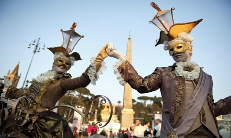 Carnival 2016 in Rome and in its surroundings