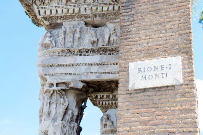 Rione Monti : lo shopping che non ti aspetti!